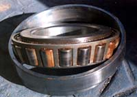 Damaged Rollers of Rolling Element Bearing, Jamming of Rollers